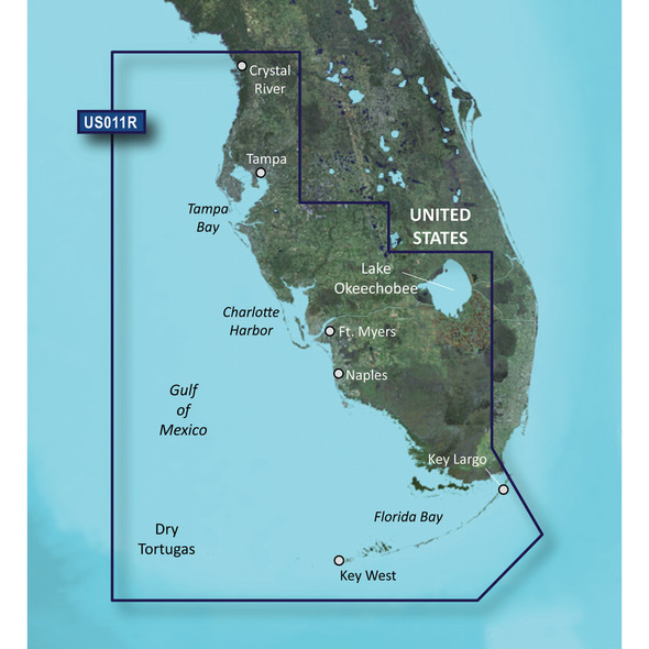Garmin BlueChart g3 Vision HD - VUS011R - Southwest Florida - microSD/SD