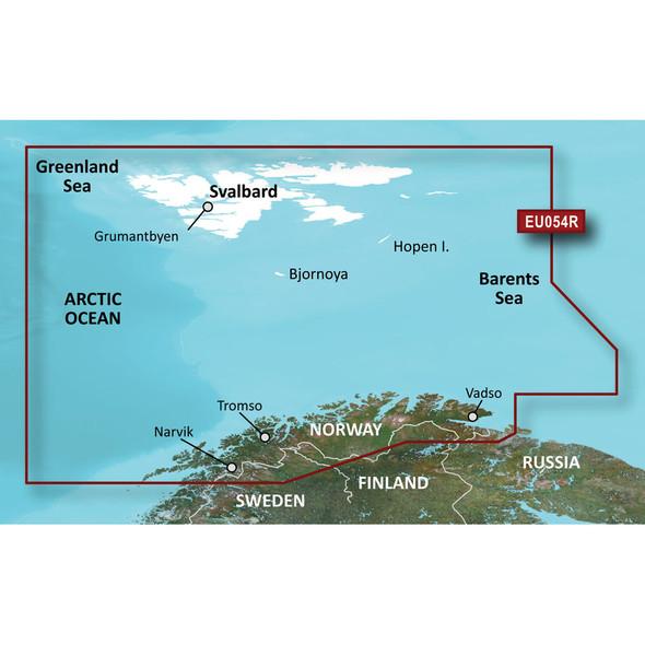 Garmin BlueChart g3 HD - HXEU054R - Vestfjd - Svalbard - Varanger - microSD/SD