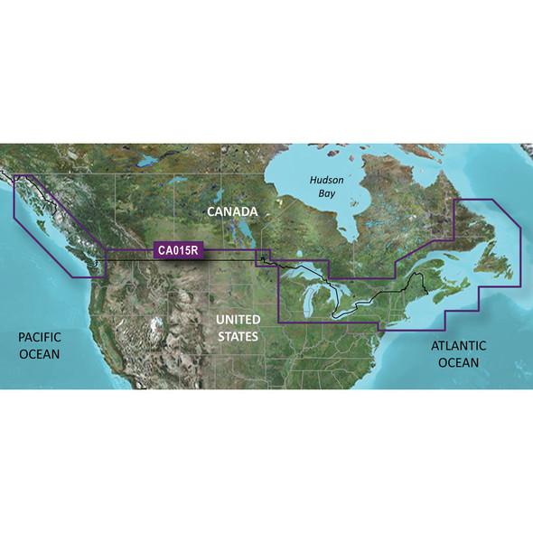 Garmin BlueChart g3 HD - HXCA600X - Canada - microSD/SD