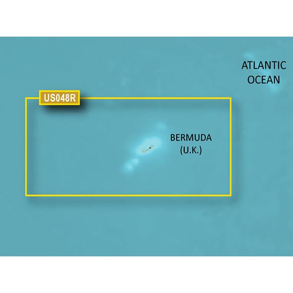 Garmin BlueChart g3 Vision HD - VUS048R - Bermuda - microSD/SD