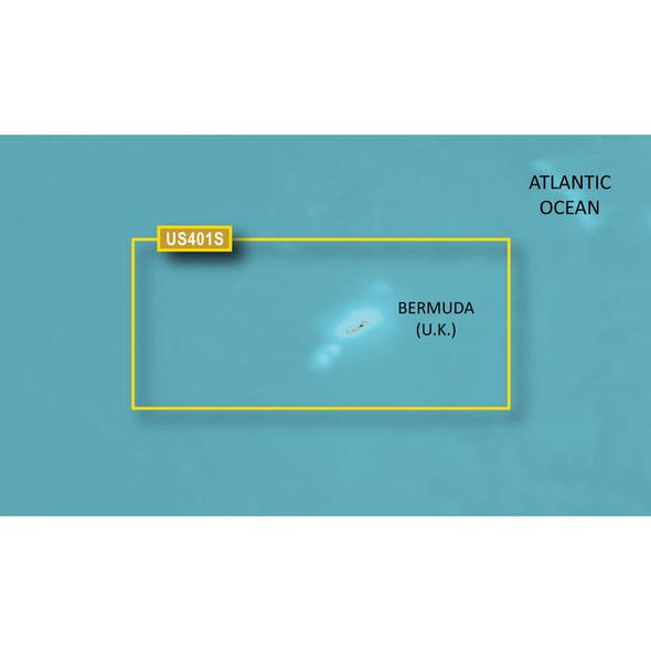 Garmin BlueChart g3 HD - HUS048R - Bermuda - microSD/SD