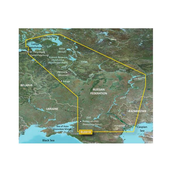 Garmin BlueChart g3 HD - HXEU062R - Russian Inland Waterways - microSD/SD