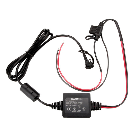 Garmin Motorcycle Power Cord f/zūmo 350LM