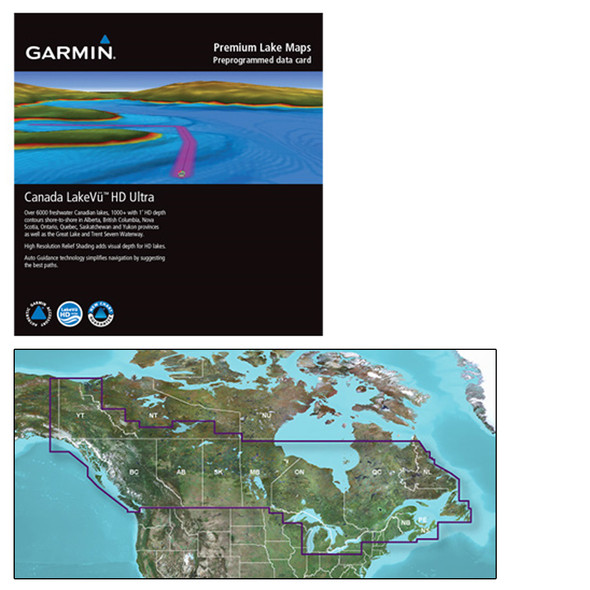 Garmin Canada LakeVü g3 Ultra - LVCA100F - microSD/SD