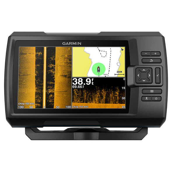 Garmin STRIKER Plus 7SV w/CV52HW-TM Transducer