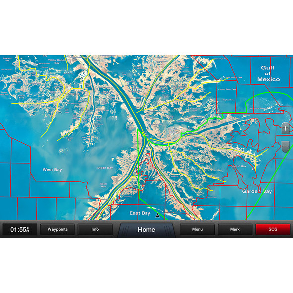 Garmin Standard Mapping - Louisiana One Premium microSD/SD card