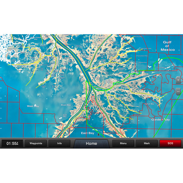 Garmin Standard Mapping - Louisiana One Professional microSD/SD card