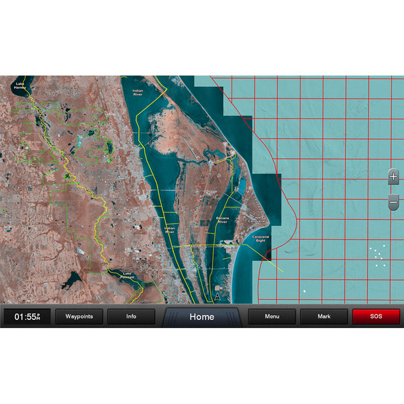 Garmin Standard Mapping - Florida East Pen Professional microSD/SD Card