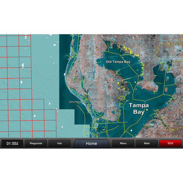 Garmin Standard Mapping - Florida West Pen Professional microSD/SD Card