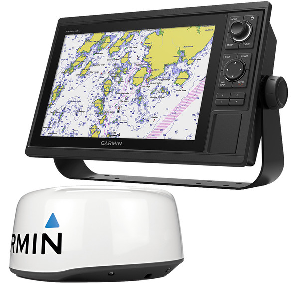 Garmin GPSMAP 1242xsv Keyed Networking Combo w/GMR 18 HD+ Dome Radar