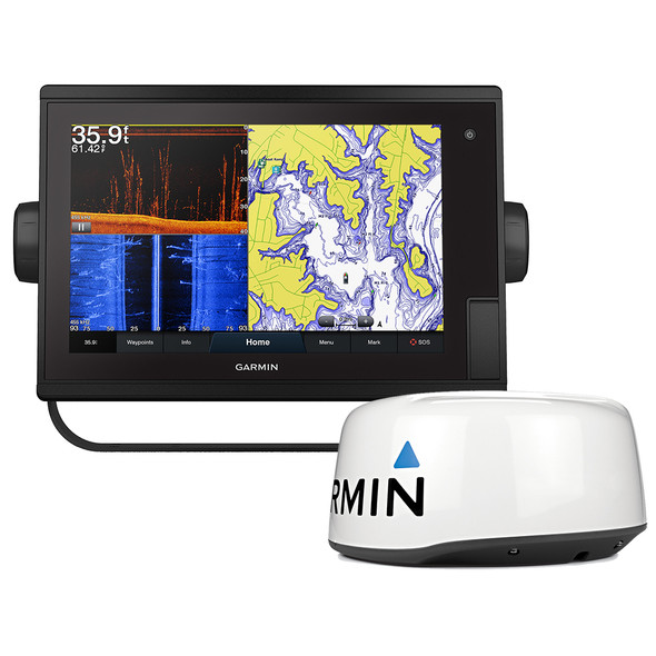Garmin GPSMAP 1242xsv Plus Touchscreen GPS/Fishfinder Combo w/GMR 18HD+ Radar
