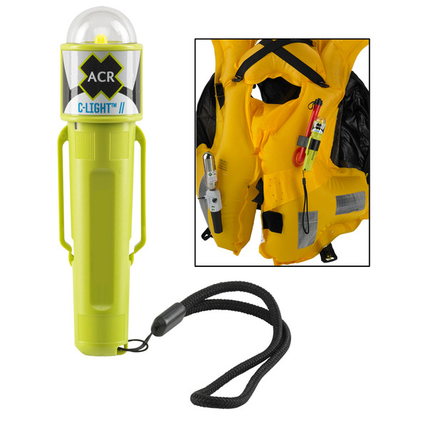 ACR C-Light - Manual Activated LED PFD Vest Light w/Clip