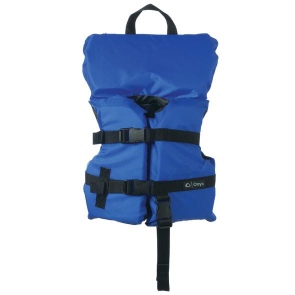 Onyx Nylon General Purpose Life Jacket - Infant/Child Under 50lbs - Blue