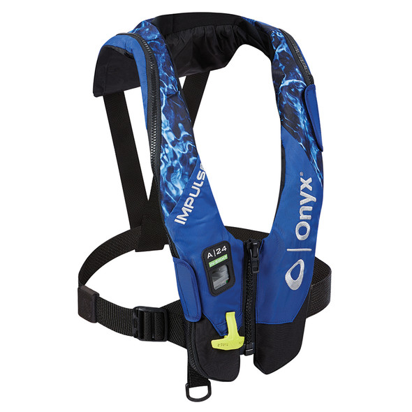 Onyx Impulse A-24 In-Sight Automatic Inflatable Life Jacket (PFD) - Mossy Oak Elements