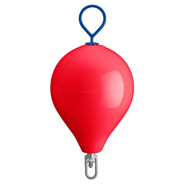 "Polyform Mooring Buoy w/Iron 18"" Diameter - Red"