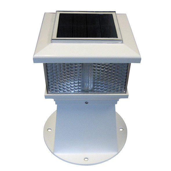 Dock Edge Solar Piling Light