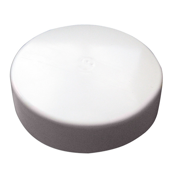 Monarch White Flat Piling Cap - 6""