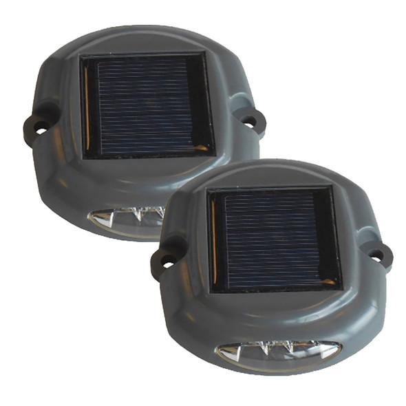 Dock Edge Docklite Solar Dock & Deck Light - 2-Pack