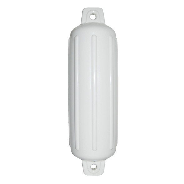 "Taylor Made Storm Gard 8.5"" x 27"" Inflatable Vinyl Fender - White"