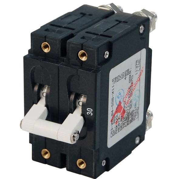Blue Sea 7365 C-Series Double Pole Circuit Breaker - 30A