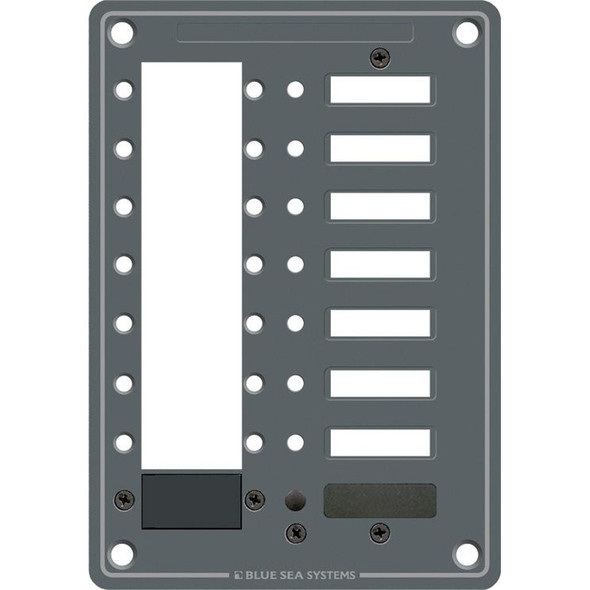 Blue Sea 8087 8 Position DC C-Series Panel - Blank