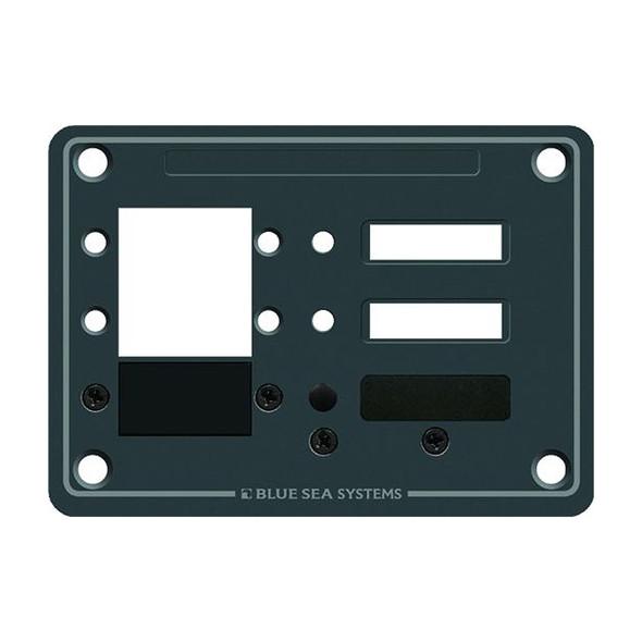 Blue Sea 8088 3 Position DC C-Series Panel - Blank