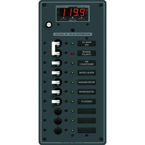 Blue Sea 8406 AC Main + 8 Positions