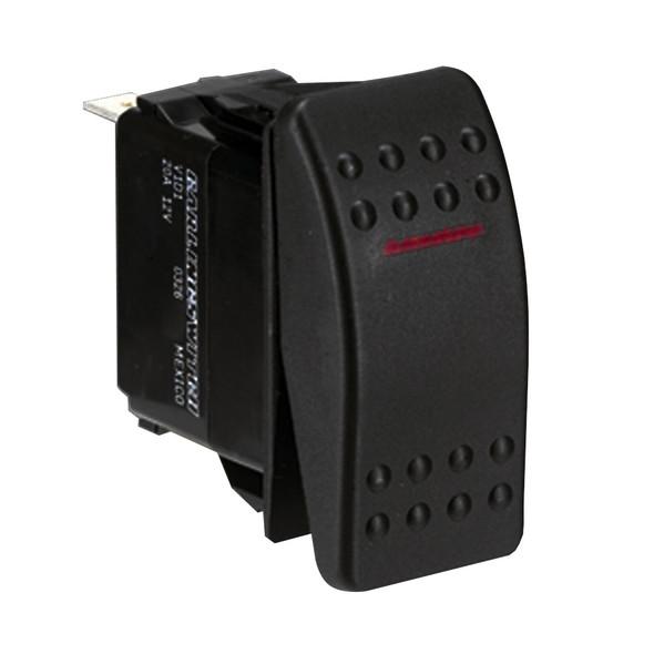 Paneltronics SPST ON/OFF Waterproof Contura Rocker Switch