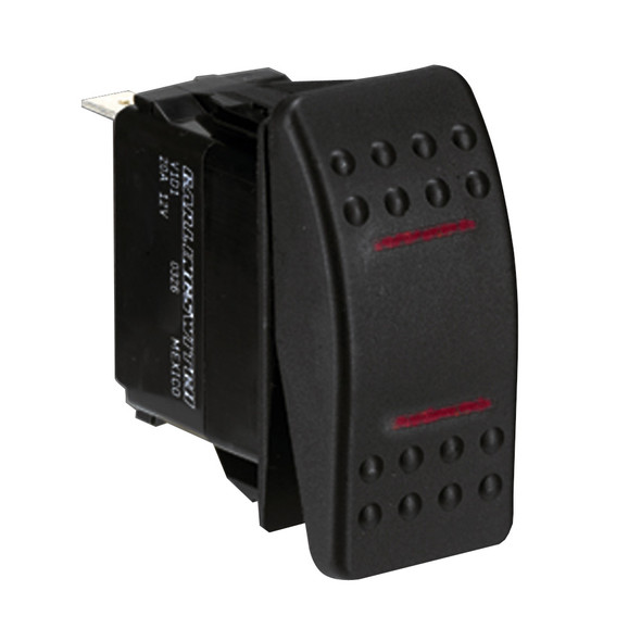 Paneltronics SPDT ON/OFF/ON Waterproof Contura Rocker Switch