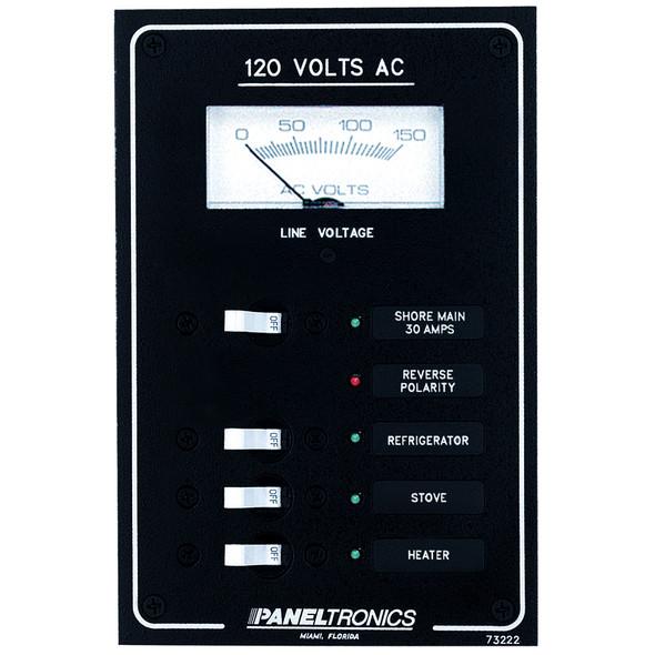 Paneltronics Standard AC 3 Position Breaker Panel & Main