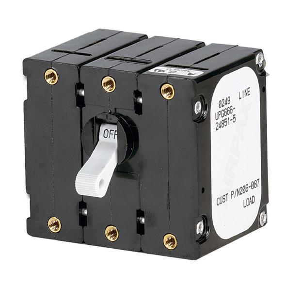 Paneltronics Breaker 50 Amps w/Reverse Polarity Trip Coil - White