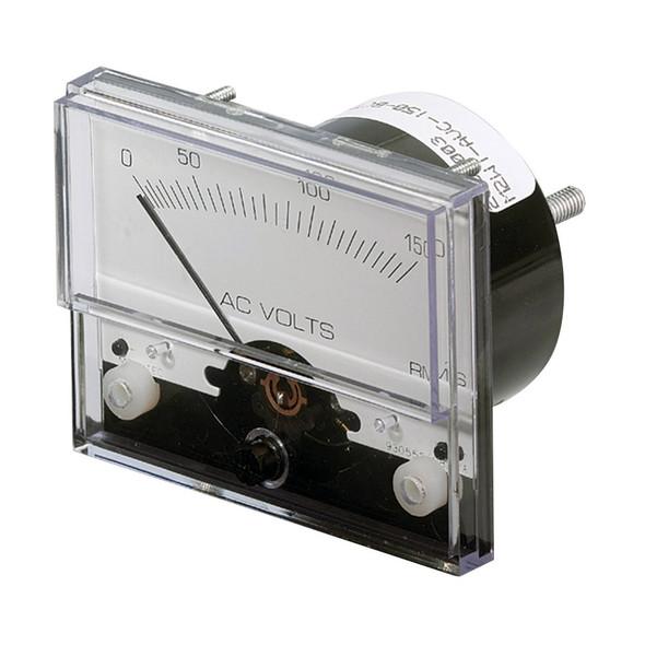 "Paneltronics Analog AC Voltmeter - 0-150VAC - 2-1/2"""
