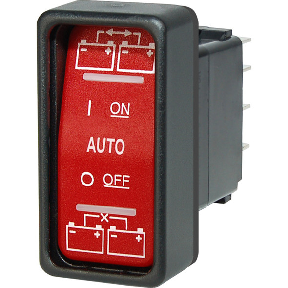 Blue Sea 2146 ML-Series Remote Control Contura Switch - ON-OFF-ON