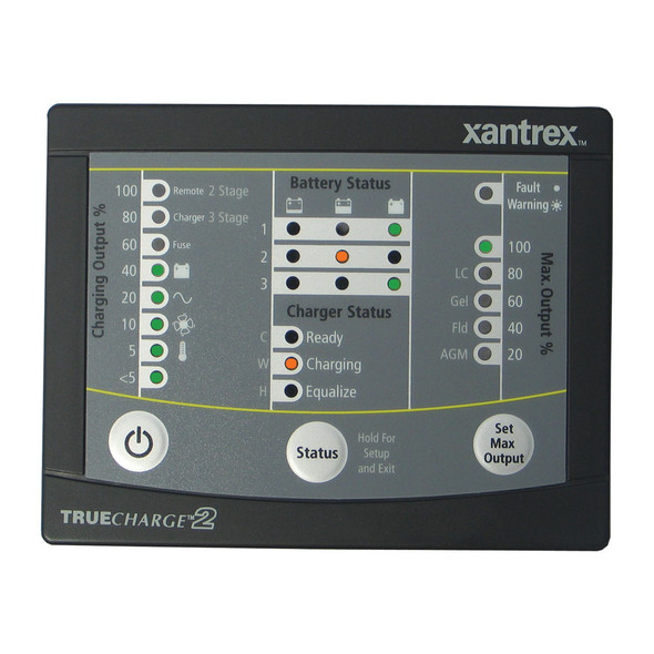 Xantrex TRUECHARGE2 Remote Panel f/20 & 40 & 60 AMP (Only for 2nd generation of TC2 chargers)
