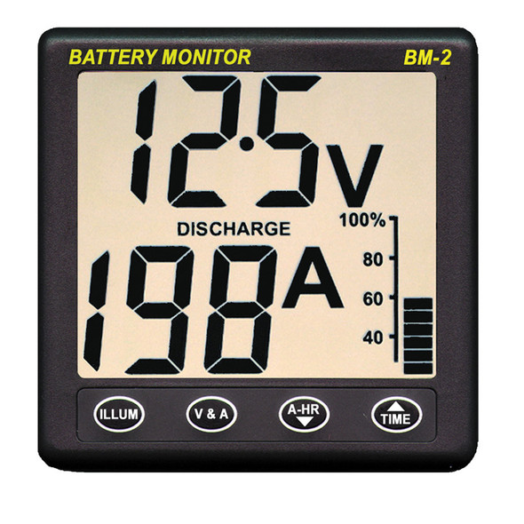Clipper BM-2 Battery Monitor w/Shunt - 200Amp