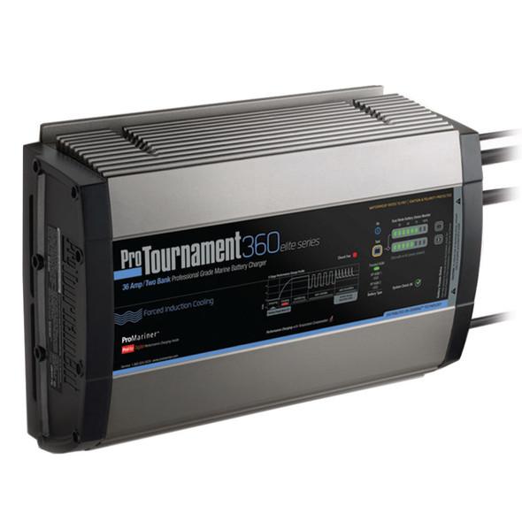ProMariner ProTournament 360 elite Dual Charger - 36 Amp, 2 Bank