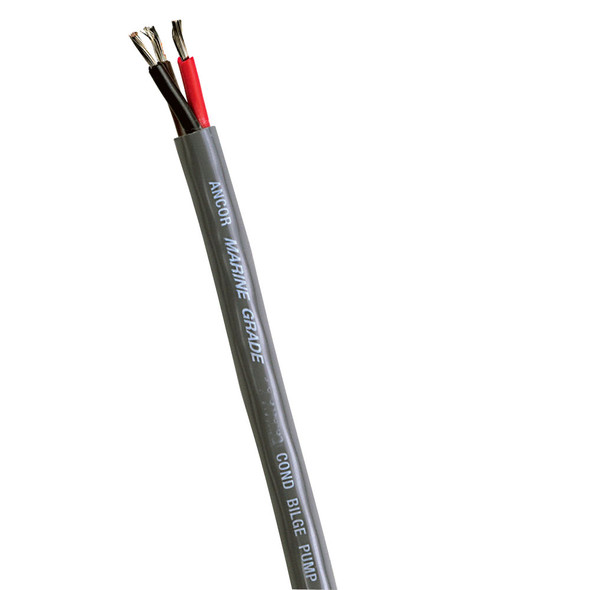 Ancor Bilge Pump Cable - 14/3 STOW-A Jacket - 3x2mm - 100'