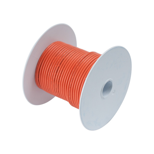 Ancor Orange 14AWG Tinned Copper Wire - 100'