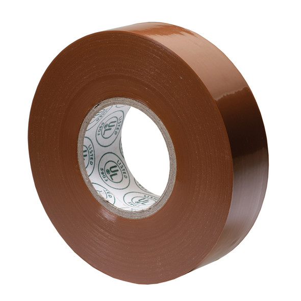 "Ancor Premium Electrical Tape - 3/4"" x 66' - Brown"