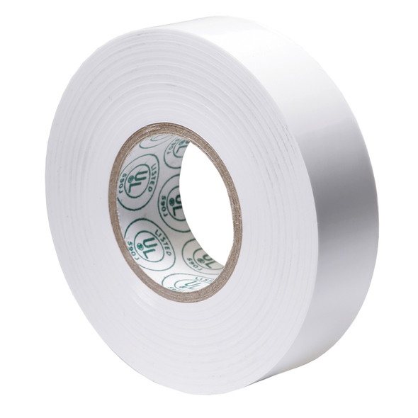 "Ancor Premium Electrical Tape - 3/4"" x 66' - White"