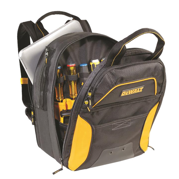 CLC DGC533 DEWALT 33 Pocket USB Charging Tool Backpack - No LED Light