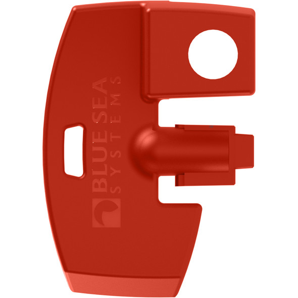 Blue Sea 7903 Battery Switch Key Lock Replacement - Red