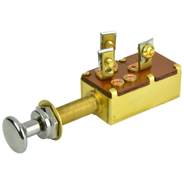BEP 3-Position SPDT Push-Pull Switch - Off/ON1/ON2