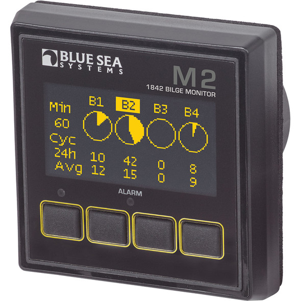 Blue Sea 1842 M2 OLED Digital Bilge Meter