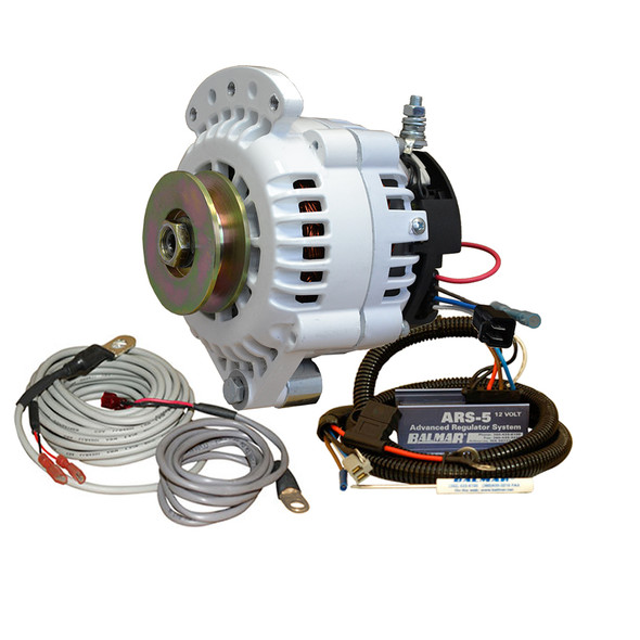 Balmar 621 Series Alternator - Spindle Mount(Single Foot) Charging Kit - 70A - 12V