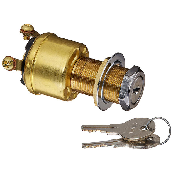 Cole Hersee 4 Position Brass Ignition Switch