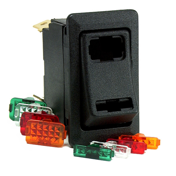 Cole Hersee Lighted Rocker Switch SPDT On-Off-On 4 Blade