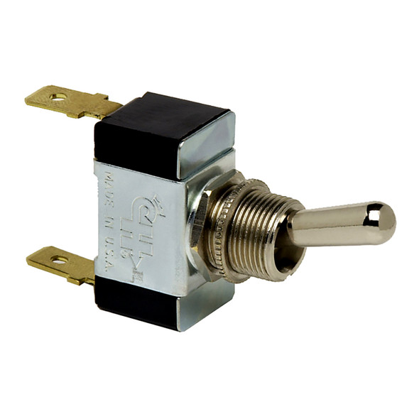 Cole Hersee Heavy Duty Toggle Switch SPST On-Off 2 Blade