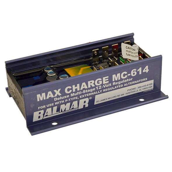 Balmar Max Charge MC-614 Multi-Stage Regulator w/o Harness - 12V