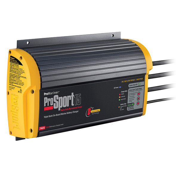 ProMariner ProSport 15 Gen 3 Heavy Duty Recreational Series On-Board Marine Battery Charger
